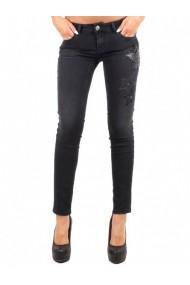Pantaloni drepti Sexy Woman DVG-GG_105095 Negru