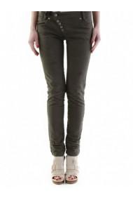 Pantaloni drepti Sexy Woman 180559 Verde