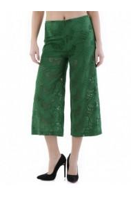 Pantaloni drepti Cristina Gavioli 71512 Verde