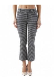 Pantaloni drepti Cristina Gavioli 84742 Negru