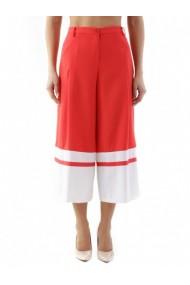Pantaloni drepti Cristina Gavioli 84836 Rosu