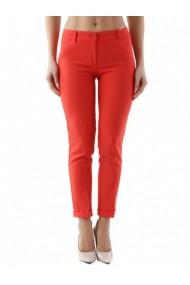 Pantaloni drepti Cristina Gavioli 84849 Rosu