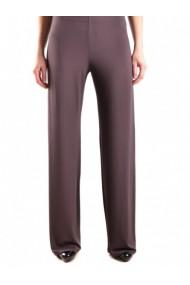 Pantaloni drepti ONE DVG-GG_106067 Maro