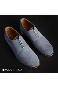 Pantofi SB 3012 DVG-06_CAMOSCIO_JEANS Albastru