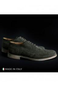 Pantofi SB 3012 DVG-208_CAMOSCIO-B_VERDE Verde