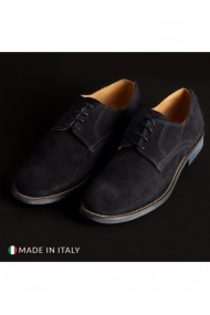 Pantofi SB 3012 DVG-06_CAMOSCIO-B_BLU Albastru