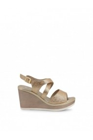 Sandale cu toc Inblu DVG-IK000007_054_PLATINO Galben