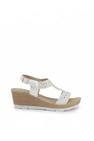 Sandale cu toc Inblu DVG-EL000012_001_BIANCO Alb