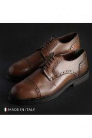Pantofi Madrid DVG-607_CRUST_BROWN Maro