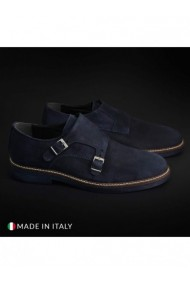 Pantofi Madrid DVG-CL600_CAMOSCIO_BLU Albastru