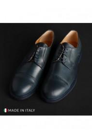 Pantofi Madrid DVG-604_CRUST_BLU Albastru