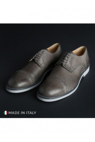 Pantofi Madrid DVG-607_PELLE_GRIGIO Gri