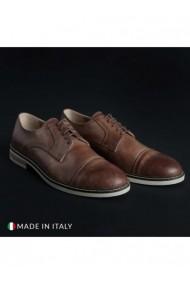 Pantofi Madrid DVG-605_PELLE_MARRONE Maro