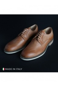Pantofi Madrid DVG-604_PELLE_SABBIA Maro