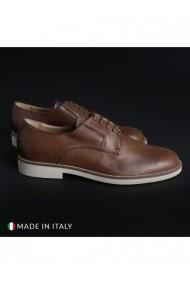 Pantofi Madrid DVG-604_PELLE_MARRONE Maro