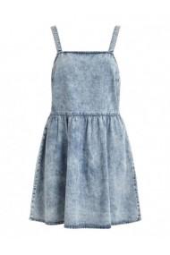 Rochie midi Vila Clothes 171116 Albastru