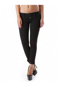 Pantaloni drepti Anya Hindmarch 68425 Negru