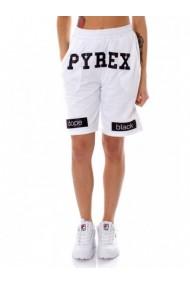 Pantaloni Scurti Pyrex 131511 Alb