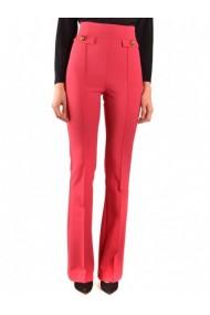 Pantaloni drepti Elisabetta Franchi 133016 Lila