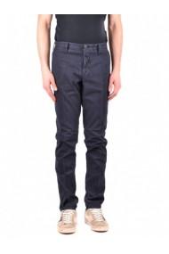 Pantaloni drepti Fay 109950 Alb