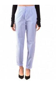 Pantaloni drepti Boutique Moschino 133105 Albastru