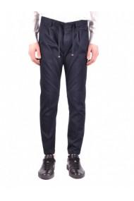 Pantaloni drepti Armani Collezioni 111098 Gri
