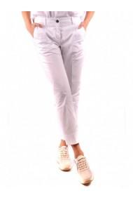 Pantaloni drepti Fay DVG-GG_109950 Alb