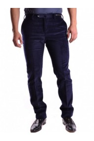 Pantaloni drepti Armani Collezioni 111102 Albastru