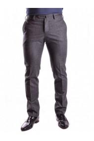 Pantaloni drepti Armani Collezioni 111103 Negru