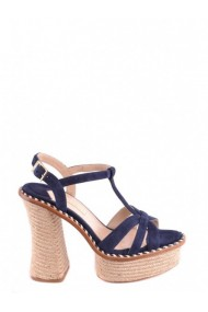 Sandale plate Paloma Barcelo DVG-GG_102667 Albastru