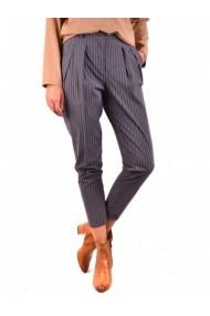 Pantaloni drepti Fabiana Filippi DVG-GG_109907 Gri