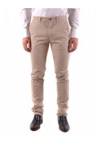 Pantaloni drepti Twin-set Simona Barbieri 120739 Albastru