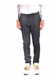 Pantaloni drepti Twin-set Simona Barbieri 124375 Albastru