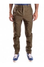 Pantaloni drepti Ak 131484 Bordo