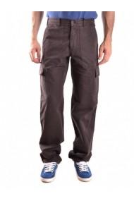 Pantaloni drepti Talco 131066 Fuchsia