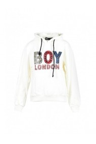 Hanorac Boy London 143298 Alb