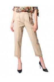 Pantaloni drepti One.0 176720 Bej