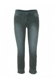 Pantaloni drepti DESIGUAL 122954 Verde