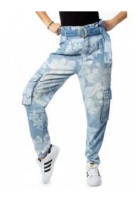 Pantaloni drepti DESIGUAL 155052