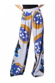 Pantaloni drepti DESIGUAL 155120 Alb
