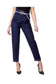 Pantaloni drepti DESIGUAL 162589 Albastru