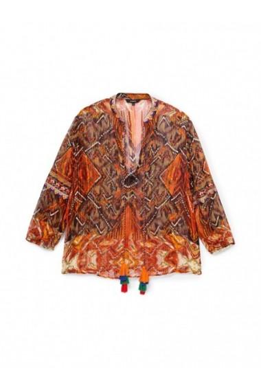 Bluza DESIGUAL 166586 Portocaliu