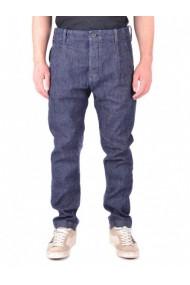 Pantaloni drepti MOSCHINO 120901 Alb