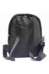Rucsac cu paiete reversibile pentru laptop negru/argintiu