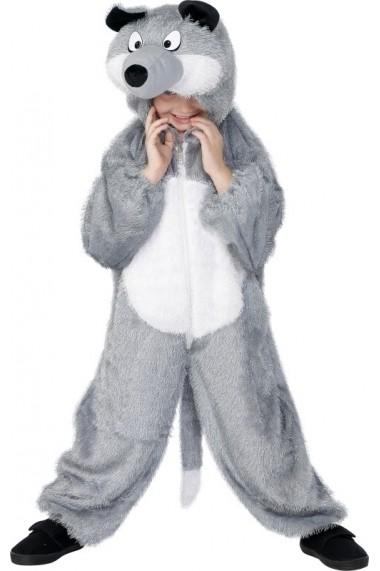 Costum de Lup - pentru copii 7-9 ani M