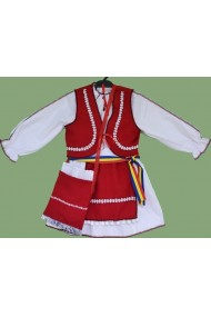 Costum popular National fetite 6 ani
