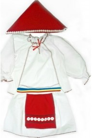 Costum national fetite 6 ani