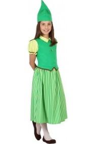Costumatie Elf pentru fete 7-9 ani