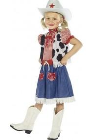 Costum Cowgirl 7-9 ani