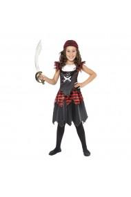 Costumatie Pirat Gothic fetite 7-9 ani 130-145 cm